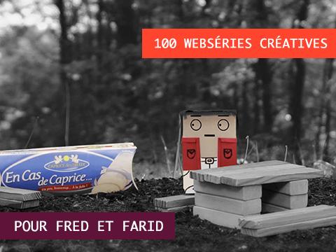 LA MINUTE CAPRICE - la websérie de 100 épisodes pour l'agence FRED ET FARID