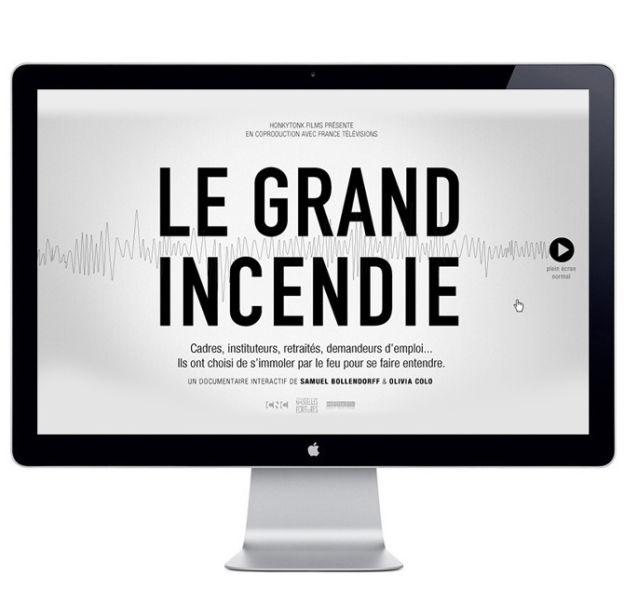 «Le Grand Incendie»  – Chronique France Info du 19 Décembre 2013