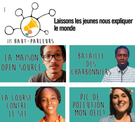"""Appel à candidatures pour faire partie du réseau de jeunes reporters francophones """"Les Haut-Parleurs"""""""