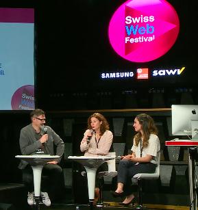 Grande conférence sur les Haut-Parleurs au swiss web festival