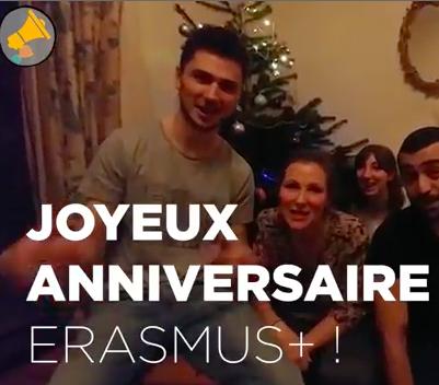 30 ANS D'ERASMUS+ C'EST VIVRE L'EUROPE AU PLUS BEL AGE ! PAR LES HAUT-PARLEURS