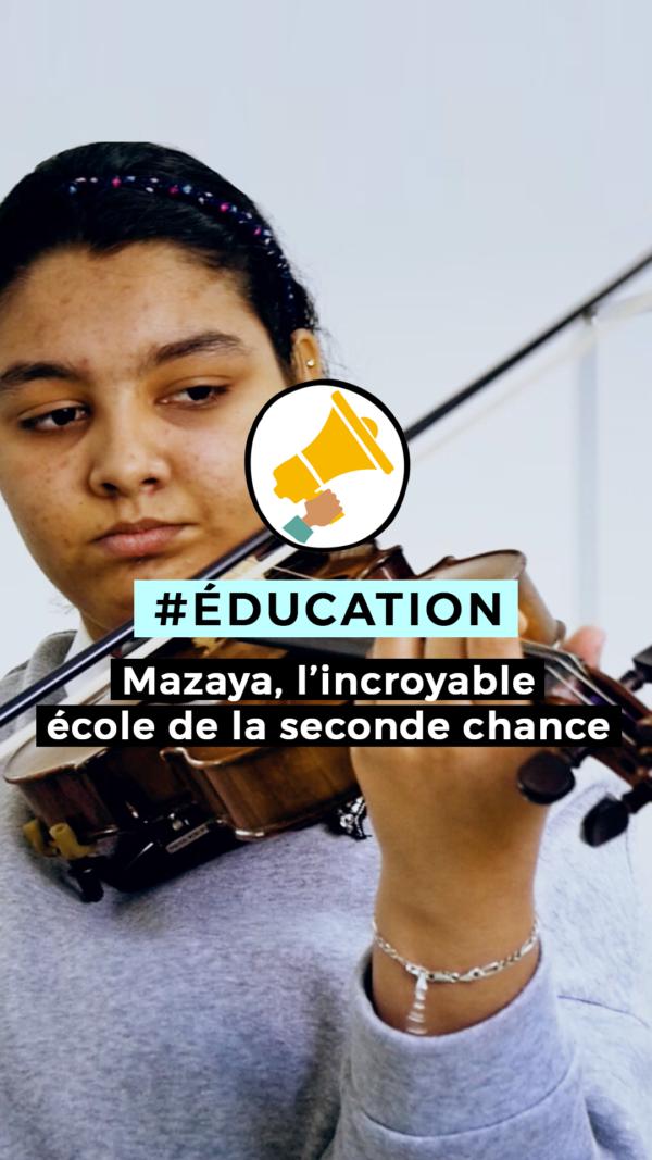 MAZAIA, l'incroyable école de la 2ème chance – 1er film documentaire de Maha Hasnaoui au Maroc