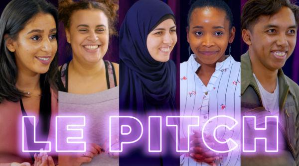 LE PITCH, la série émouvante avec des jeunes entrepreneurs sur TV5MONDEplus